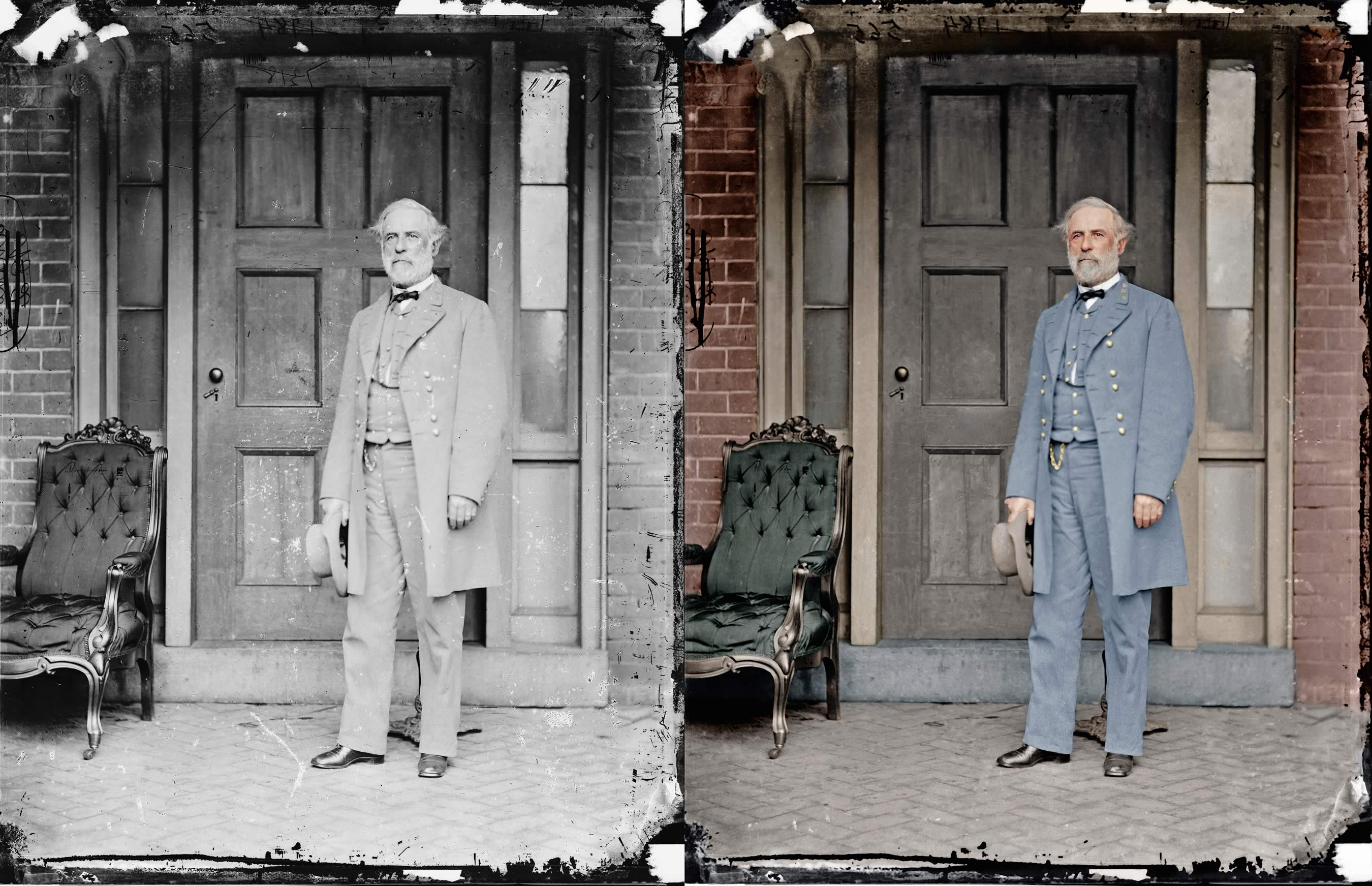 Before And After Pictures Blood And Glory The Civil War Civil War Pictures In Color