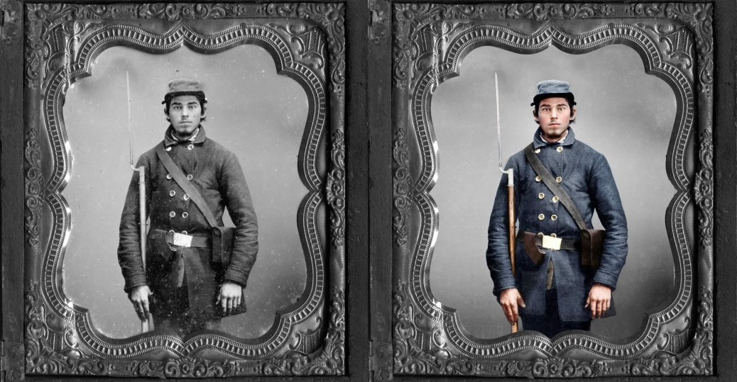 blood and glory the civil war in color