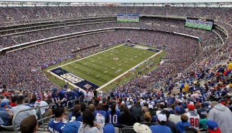 The old Giants Stadium in East Rutherford, New Jersey, was rumored to be the final resting place of Jimmy Hoffa.