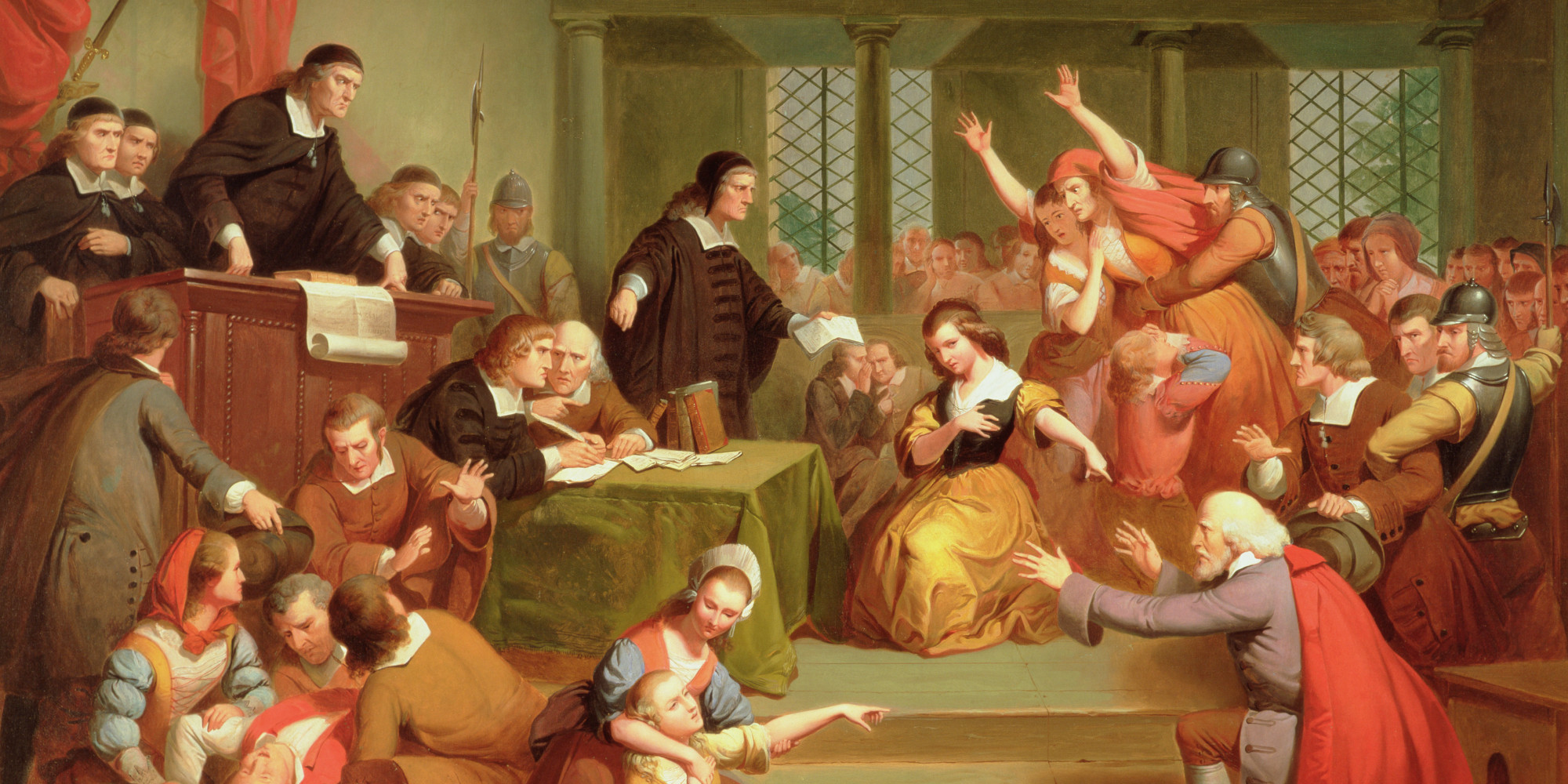 hysteria and fear of the salem The salem witch trials page contains information and court transcripts dealing with the events and persons of whether it was fear of god's wrath or hysteria.