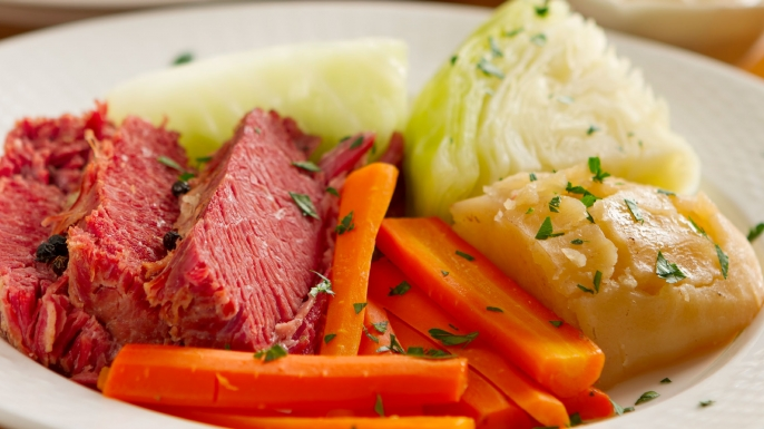 Corned Beef and CabbageAs Irish as Spaghetti and Meatballs
