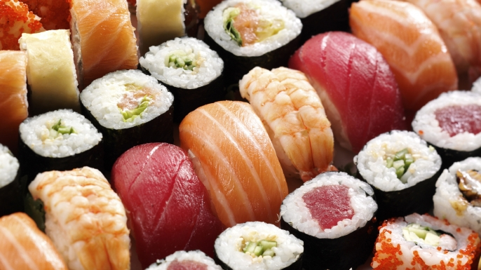 UNGRY Nigiri to California Rolls: Sushi in America
