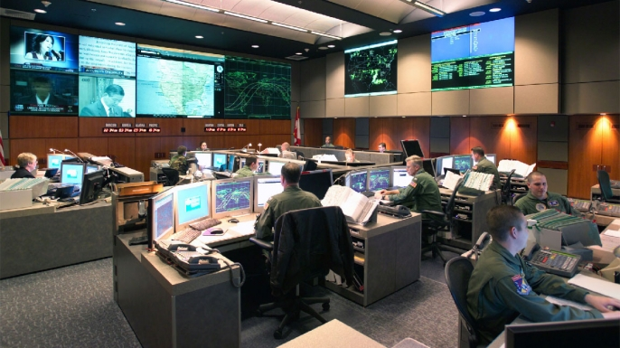 list 5 cold war close calls NORADCommandCenter