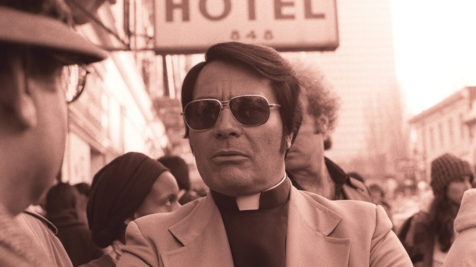 Reverend Jim Jones photo. (Credit: Nancy Wong)
