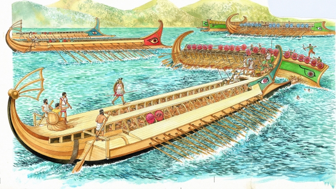 LIST 6 Ancient Naval Battles - Arginusae
