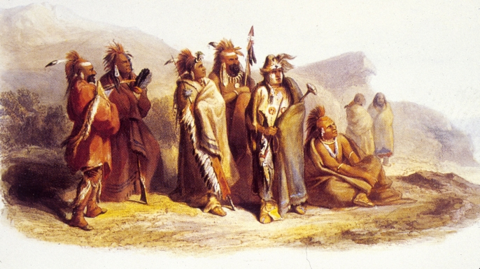 Meskwaki (Fox) Indians, the tribe Memmie may have belonged to (Credit: MPI/Getty Images)
