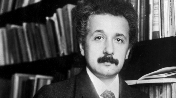 Albert Einstein in 1905 (Credit: Topical Press Agency/Getty Images)