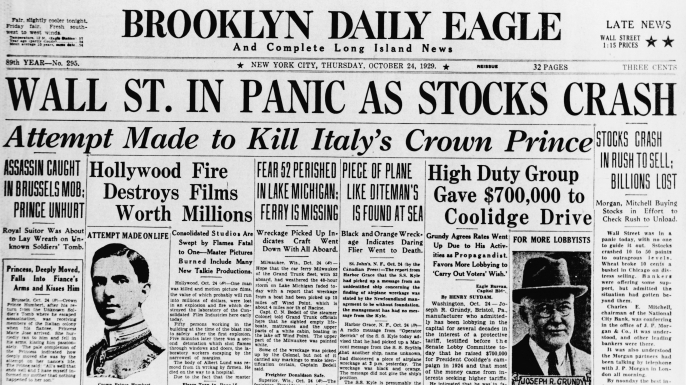 Brooklyn Daily Eagle Front Page