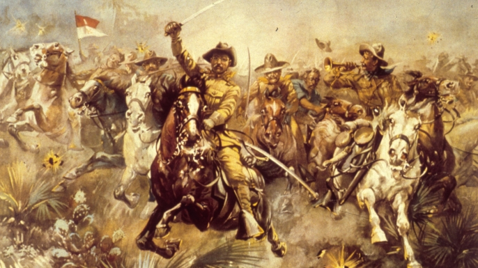 list 7 Presidential War Stories teddy roosevelt