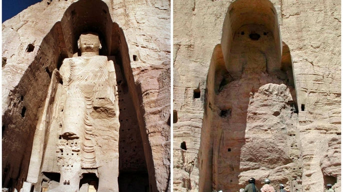 list 8 lost masterpieces art buddhas bamiyan