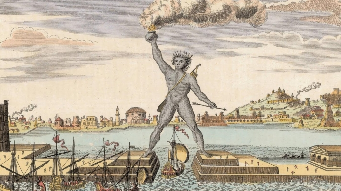 list 8 lost masterpieces art colossus rhodes