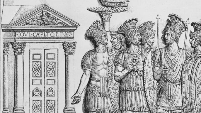 politia secreta din Roma antica