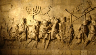 Looting of the Temple in Jerusalem.