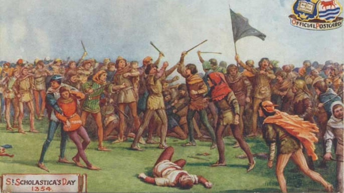 St. Scholastica Day Riot