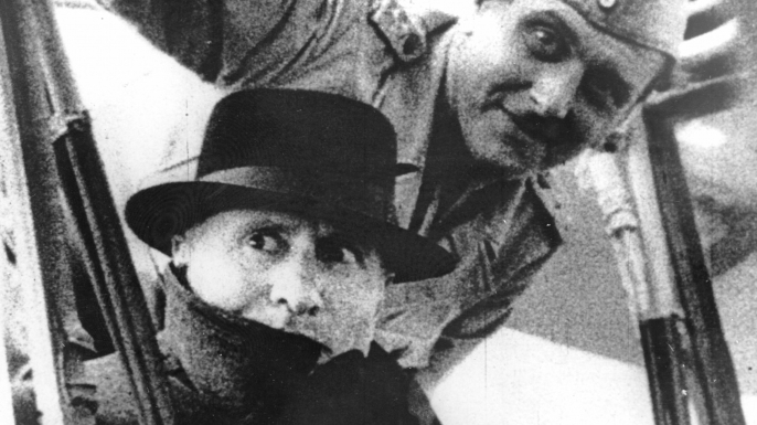 Benito Mussolini and Otto Skorzeny shortly after Mussolini's rescue (Credit: Roger Viollet/Getty Images)