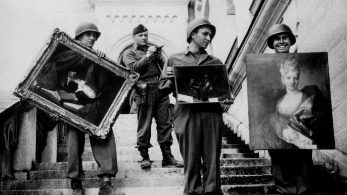 list 7 Unusual Military Units monuments men