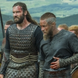 Vikings, Clive Standen as Rollo, Travis Fimmel as Ragnar
