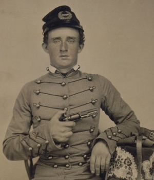 Custer as a West Point cadet