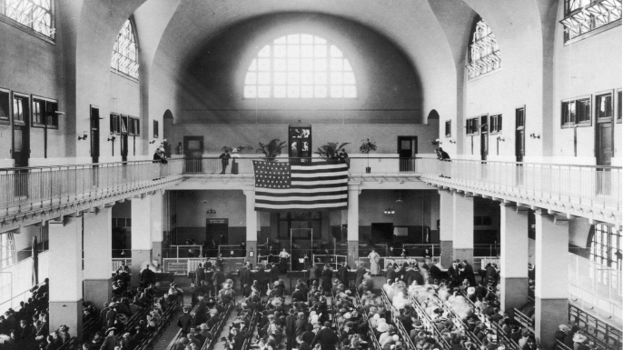 Ellis Island's Great Hall