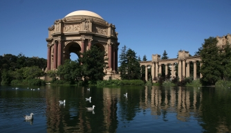 The rotunda of the Palace of Fine Arts (Credit: Justin Sullivan/Getty Images)