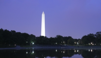 How did Washington, D.C., get its name?