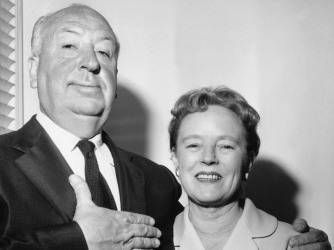Hitchcock and Alma Reville (Credit: RDA/Getty Images)
