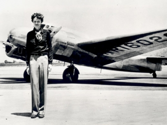Earhart and the Lockheed Electra