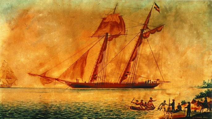 Image result for Last slave ships paintings