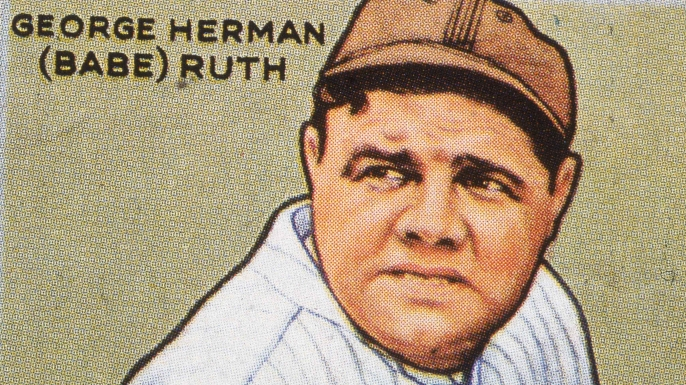 The legendary Bambino hit the first home run in All-Star Game history during the inaugural 1933 game at Chicago's Comiskey Park.