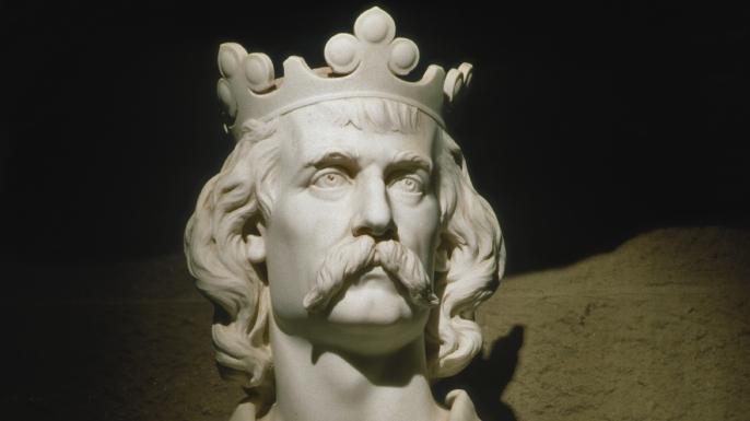 Robert the Bruce, leader of Scottish forces at the Battle of Bannockburn