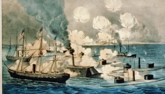 The Civil War's Landmark Naval Battle Is Remembered for a Unique Rallying Cry