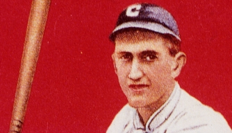 """Shoeless"" Joe Jackson baseball card"