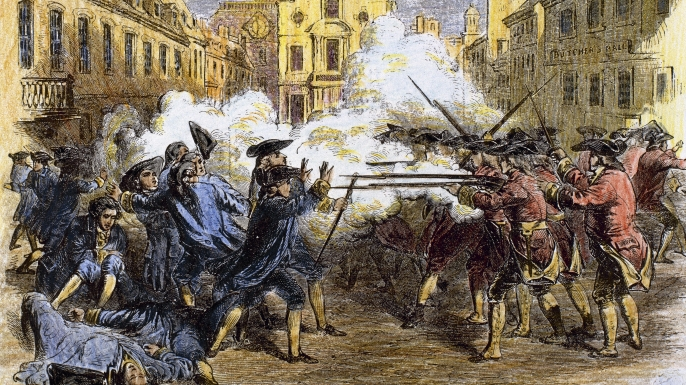 date of the massacre - Picture of Site of the Boston Massacre, Boston ...