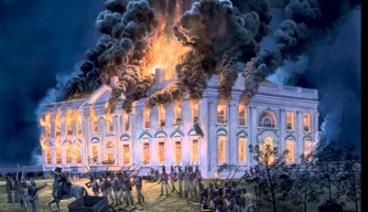 Burning of the White House, 1814