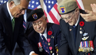 "WWII ""Devil's Brigade"" Honored by Congress"