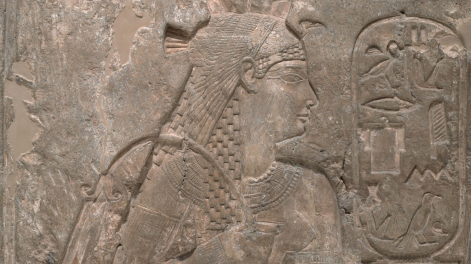 Temple Relief of Queen Arsinoe II