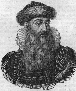 Drawing of what Johannes Gutenberg may have looked like