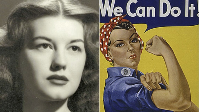 hith inspiration rosie riveter dies