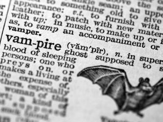 vampire dictionary