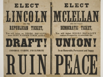Anti-Lincoln campaign pamphlet