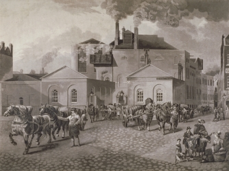 Meux's Brewery, London (Credit: Guildhall Library & Art Gallery/Heritage Images/Getty Images)