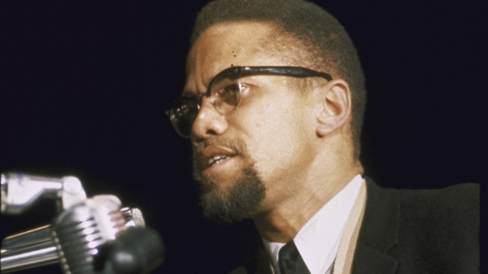 Image result for malcolm x  in 1965