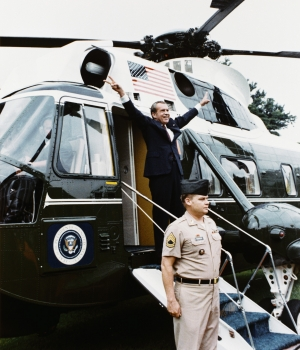 Image result for nixon helicopter