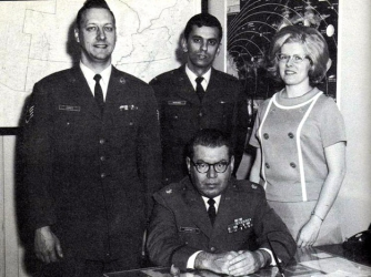Members of the Project Blue Book staff