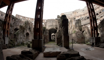 Rome's Colosseum Unveils its Underworld