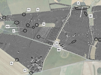 Anomalies discovered by the Stonehenge Hidden Landscapes Project (Credit: Vincent Gaffney/Stonehenge Hidden Landscapes Project)
