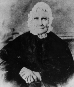 Sarah Bush Johnston Lincoln (Credit: Getty Images)