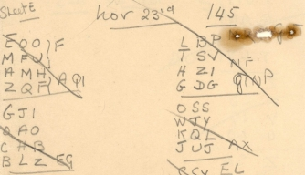 Notes by Alan Turing's Team Found in the Walls of Code-Breaking Hut