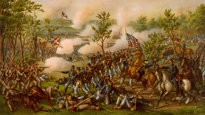 the american civil war the battle of chattanooga Civil war in chattanooga about north georgia three times between 1861 and 1865 union and confederate forces would battle in or near the southeastern tennessee city of chattanooga.
