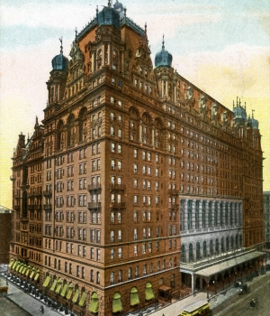 The original Waldorf Astoria